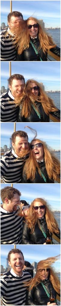Boat hair.